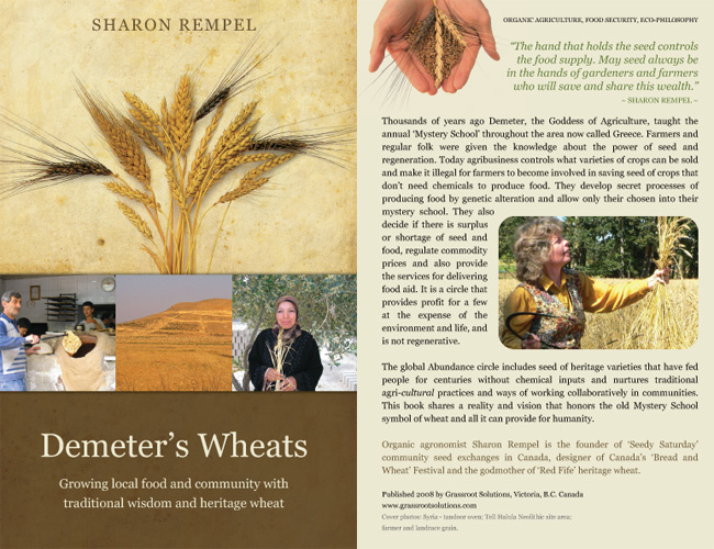Demeter's Wheats Book